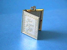 Locket,This is Your Life,Photos,Pendant,Vintage,G/F