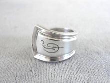 Sterling Spoon Ring Baynard Banks Bryan Handmade Vintage