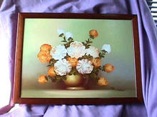 Beautiful Oil Painting & Frame by Morgan