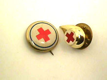 Lot Red Cross,Vintage,Pinback,Tie Tac,Pin,OLD