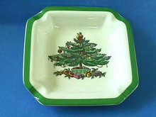 SPODE China,Christmas Tree,Holiday Candy Dish/Ashtray,Never Used