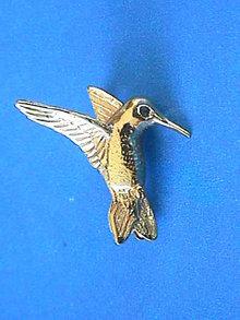 Krementz Hummingbird Pin,Vintage,Precious!
