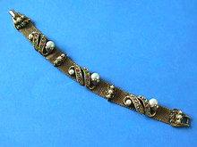 Pastel Mesh Bracelet,Pearls,Vintage,Fabulous!