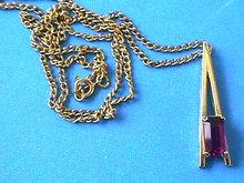 PLAZA IV Neck,Amethyst R/S,Avon,Vintage!
