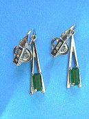 PLAZA IV Neck,Emerald R/S,Avon,Vintage!