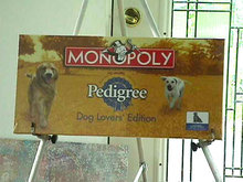 Monopoly Pedigree Edition,Dog Lover's,Rare,OOP,Sealed,New