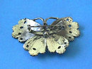 Silver Butterfly Brooch,Detailed,Vintage,Nice!