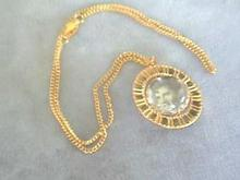 Elvis Presley 2-Sided Bubble Pendant w/Chain