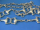 Gucci Silver Chain Horse Bit Belt,Italy,Equestrian