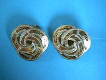 SPAIN Damascene Celtic Rings Earrings Toledo