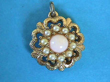Sarah Angel Pink Pendant Coventry Vintage