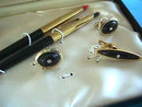 WATERMAN Ballpoint Jewelry Set 1950s NIB