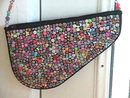 BEADED Piano Purse Bag Unusual Neat!