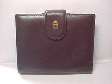 Etienne Aigner Wallet Burgundy Leather Soft as Butter Vintage