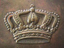 German Belt Buckle Bavaria Brass CROWN WW1