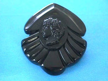 Bakelite Cameo Brooch Carved 1930s Stunning