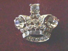 Crown Pin in Rhinestones