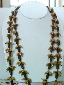 Unusual Glass Lonnng Neck 52 In Loaded Browns Vintage