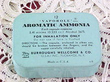 VAPOROLE Aromatic Ammonia Tin with Capsules