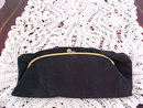 Ingber Black Purse Mirror Plus Change Purse