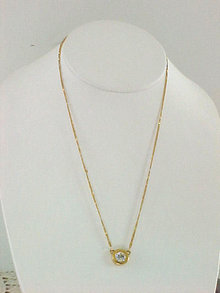 Swarovski Crystal Pendant Necklace Swan Vintage
