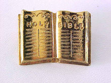 ORA Bible Pin Vintage Open Book