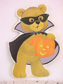 3 Halloween Decorations Vintage Boo!
