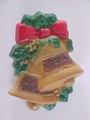 Vintage Bells Pin Double Holidays