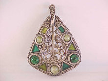 MIRACLE Celtic Pendant Large Scottish Vintage