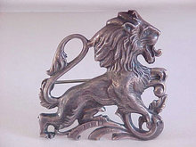 Cini Leo Pin Sterling Horoscope Lion Vintage