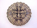 Joseff of Hollywood Filigree Layered Pin Vintage Beautiful