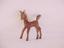Enamel Colt Pin Rhinestones Horse Rhinestones Vintage