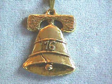 1976 Liberty Bell Pendant w/GBA on back