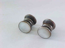 Snappers Cuff Links Mother of Pearl Jem Link
