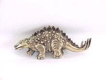 Dinosaur Pin Brooch Chunky