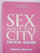 Sex and the City Trivia Game Sealed in Tin