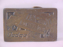 Tiffany DODGE Belt Buckle Vintage