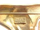MMA Sterling Figural Pin Brooch Vermeil Metro