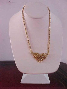 Vendome Bamboo Necklace Vintage Fabulous!