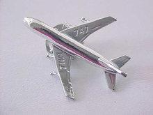 Airplane TWA 747 Tie Tac Vintage