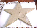 'Stars in Time' Two Handcrafted Carved Stoneware OOAK Signed