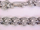 Vintage Beau Sterling Silver Bracelet Linked Safety Chain