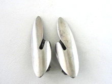 Sterling Silver  E. Dragsted Modernist Earrings Vintage