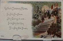 What Christmas Means Post Card