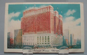 The Palmer House Hotel Chicago PostCard