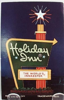 Holiday Inn Dayton, Ohio Post Card