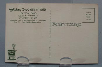 Holiday Inn Dayton, Ohio Post Card