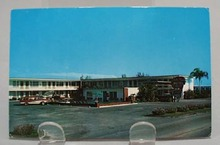 Shelby Plaza Motel Clearwater, Fl Post Card