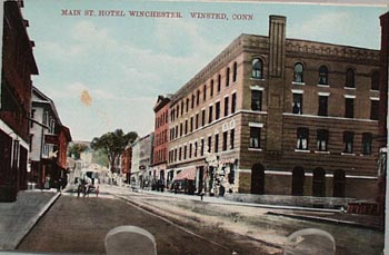 Main St Hotel Winchester Winsted Conn PC