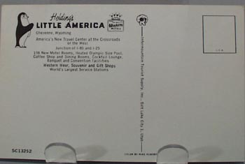Holdings Little America Cheyenne, Wyo PC